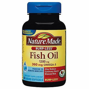Nature Made Fish Oil Burp-Less, 1200 mg, 200 Tabs