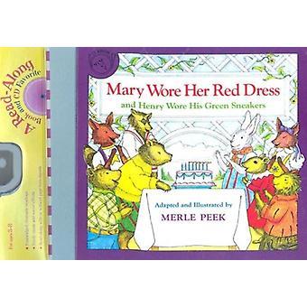 ارتدى ماري فستانها الأحمر وهنري ارتدى له أحذية رياضية خضراء كتاب مؤتمر نزع السلاح من قبل ميرل نظرة خاطفة و PeekJames الصليب جيبلين وجيبلين