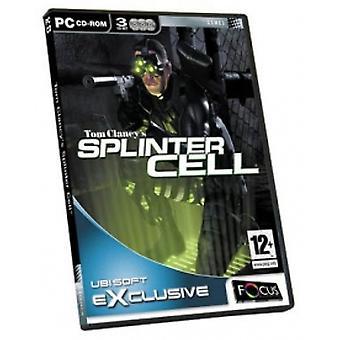 Tom Clancys Splinter Cell Game PC
