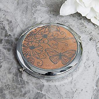 Sophia Rose Gold Collection Compact Mirror