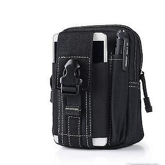 Hombres Cinturón Táctico Cintura Pack Bolsa de bolsillo pequeño Mochila Militar Pack Corriendo Bolsa de Viaje Bolsas de Camping