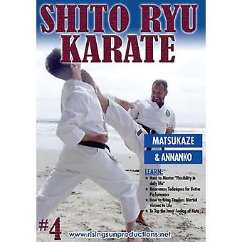 Shito Ryu Karaté #4 Code craquant De Kata Matsukaze Dvd Billimoria -Vd7051A