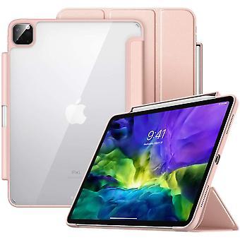 Case Fit iPad Pro 11 2. Generation 2020 & 2018 mit Apple Pencil Halter [Unterstützt kabelloses Laden]