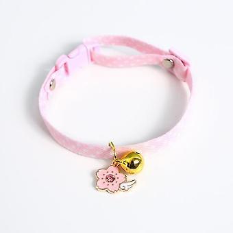 Collar de gato con colgante, collares de gato ajustables de seguridad set tamaño XS