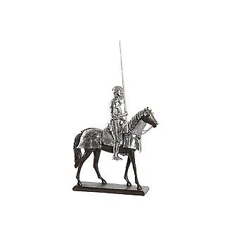 Sierfiguur DKD Home Decor Temple Soldier Harts (30 x 12 x 36 cm)