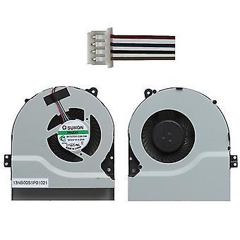 1.56W Laptop Radiatore Ventola di raffreddamento CPU Ventola di raffreddamento per ASUS X550V / X450