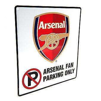 Arsenal FC geen parkeerbord officieel gelicentieerd product