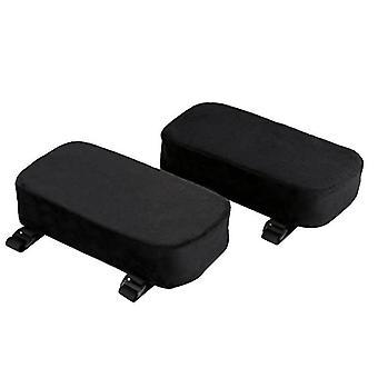Chair Arm Pad Memory Foam Hand Pillow Armrest Cushion(255*130*50mm)(2pcs)
