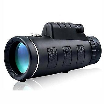 40X60 Monoculars With Night Vision View BAK4 Prism High Power Waterproof Hunting