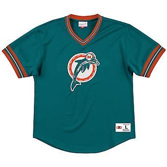 Mitchell & Ness Camiseta de malla invicta - NFL Miami Dolphins