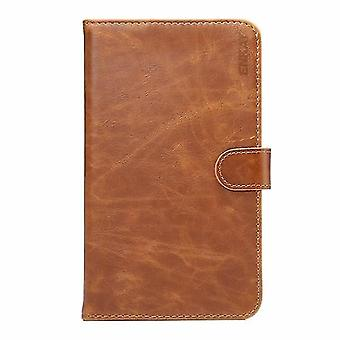 Power adapter charger accessories pu leather wallet case cover with card holders stand for huawei m2 7 inch tablet brown