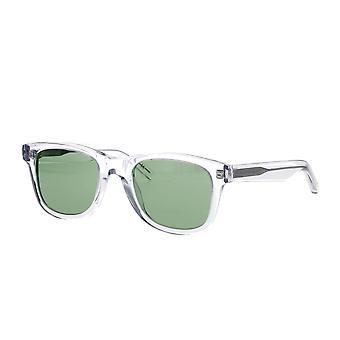 Saint Laurent SL 51 064 Crystal/Green Sunglasses