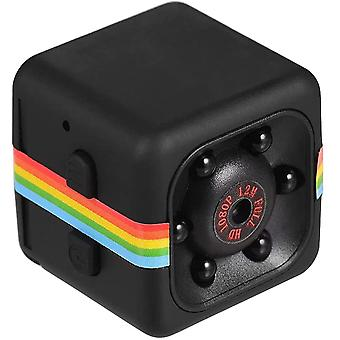 Flytise Mini Cube Camera 1080p Hd Ir Night Vision 120 Wide Angle 32gb Extended Memory