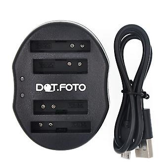 Dot.Foto Canon NB - 5L Dual USB caricabatteria