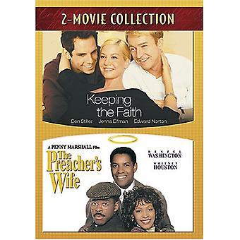 Keeping the Faith/Preacher's Wife [DVD] USA import