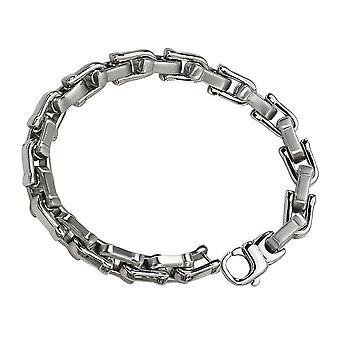 Mens Bracelet in Stainless Steel 8.5 Inch