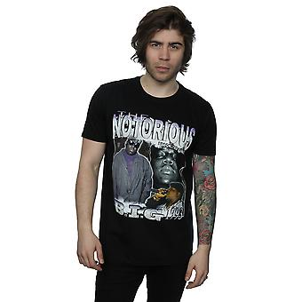 Homage Men's Notorious BIG Montage T-Shirt