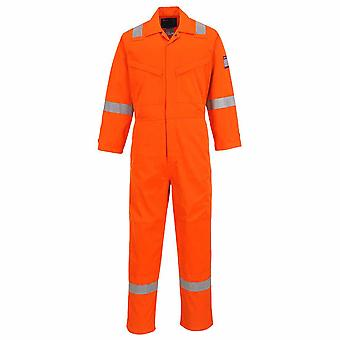 sUw - MODAFLAME Hi-Vis Safety Workwear Coverall Boilersuit