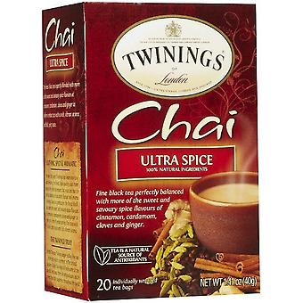 Twinings London Chai Ultra Spice te