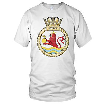 Royal Navy HMS Exeter Mens T-Shirt