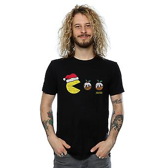 Pacman mannen Christmas pudding T-Shirt