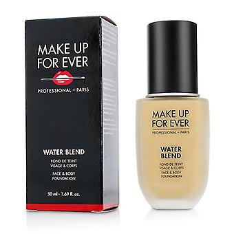 Make up para sempre Water Blend face & amp; Body Foundation-# Y315 (areia)-50ml/1.69 oz