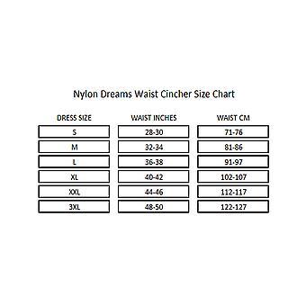 Nylon Dreams NDLWC2 Women's Red Waist Cincher