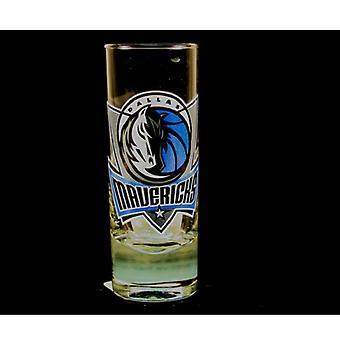 "Dallas Mavericks NBA Hype"""" lang Shot glas"