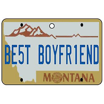 Montana - beste vriendje kenteken auto luchtverfrisser