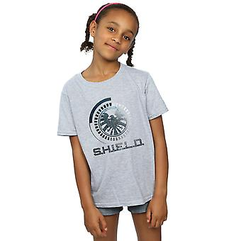 Marvel Avengers Mädchen Schild Logo T-Shirt