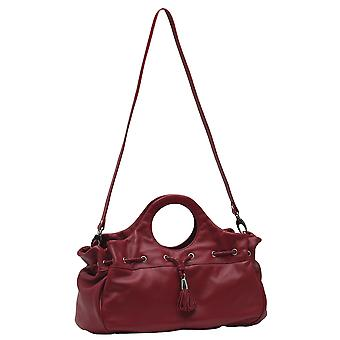 Burgmeister ladies bag T216-114B leather red