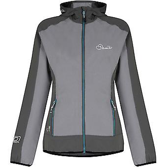 Tør 2b kvinners/damer dualitet vannavstøtende Hybrid Softshell jakke