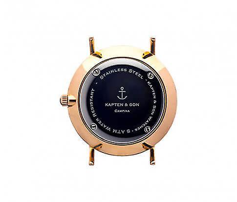 Kapten en Son Black Vintage Leather Campina 4251145211547