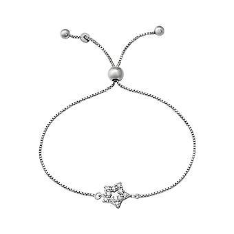 Stern - 925 Sterling Silber Kette Armbänder - W37475X