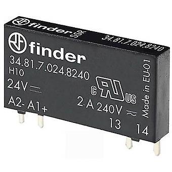Finder SSR 34.81.7.024.8240 Switching voltage (max.): 275 V AC Zero crossing 1 pc(s)
