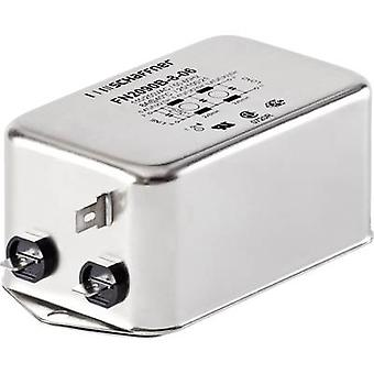 Schaffner FN2090-1-06 EMI filter 250 V AC 1 A 20 mH (L x W x H) 71 x 46.6 x 22.3 mm 1 pc(s)