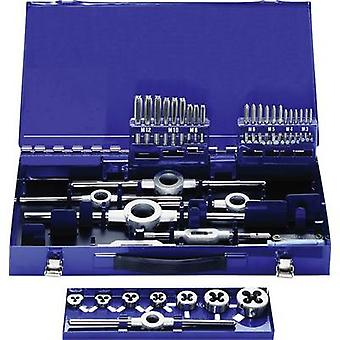Eventus by Exact 10734 Tap tool kit 37-piece HSS metric M3, M4, M5, M6, M8, M10, M12