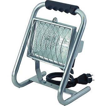 Brennenstuhl H 500 MS IP 44 Outdoor floodlight HV halogen R7s Silver