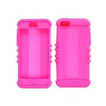 Unlimited Cellular Rocker Series Skin Case for Apple iPhone 5C (Fluorescent Magenta)