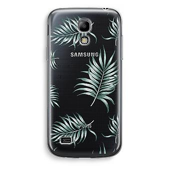 Samsung Galaxy S4 Mini Transparent Case (Soft) - Simple leaves