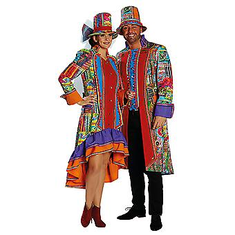 Crazy folk they men's costume Carnival Carnival