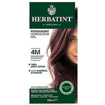 Herbatint, Mahogany Chestnut Hair Colo 4M, 150ml