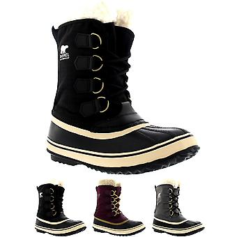 Womens Sorel Winter Carnival Duck Snow Winter Rain Wool Waterproof Boots