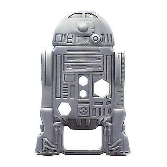 Star Wars multi tool-R2-D2, zilver, metaal, op blisterkaart.