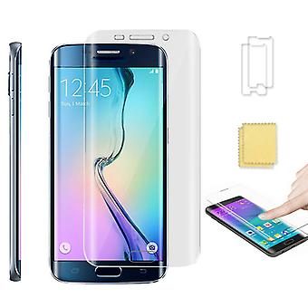 Full-cover Screen protector for Galaxy S6 EDGE 2-Pack Retail