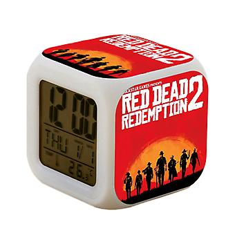 Red Dead Redemption II Digital Alarm Clock-Nr. 1