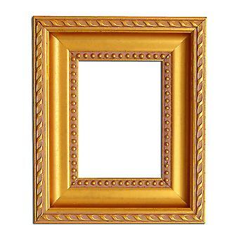 16x18.5 سم أو 4x5 بوصة، إطار الصورة الذهبية