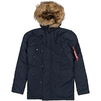 Alpha Industries Herren Winterjacke Explorer w/o Patches