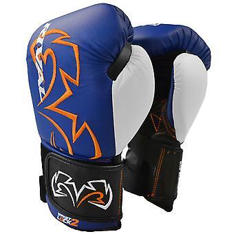 Rivalizar con gancho de evolución de boxeo y guantes del bolso de lazo - azul