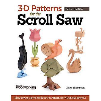 3D-mönster för Scroll Saw - tidsbesparande Tips & redo-till-Cut Patt